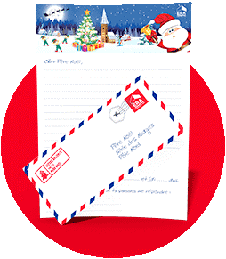 Bouton Télécharger la lettre au Père Noël